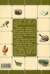Recettes paysannes de l'Hérault - 4ème de couverture - Format classique