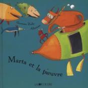 Marta et la pieuvre - Couverture - Format classique