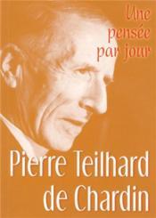 Pierre Teilhard de Chardin - Couverture - Format classique