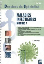 Maladies infectieuses module 7 - Couverture - Format classique