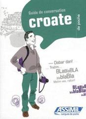 GUIDES DE CONVERSATION ; Croate de poche - Couverture - Format classique