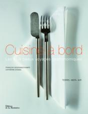 Cuisine à bord - Couverture - Format classique