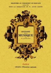 Histoire de la musique - Couverture - Format classique