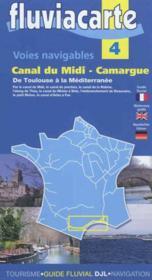 Voies navigables canal du midi-camargue - Couverture - Format classique