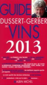 Le guide Dussert-Gerber des vins (édition 2013) - Couverture - Format classique