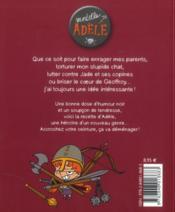 Mortelle Adèle T.2 ; l'enfer, c'est les autres - 4ème de couverture - Format classique