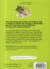 La lunch box des paresseuses - 4ème de couverture - Format classique