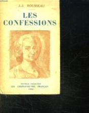 Les Confessions. - Couverture - Format classique
