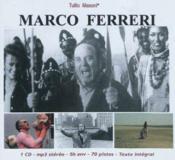 Marco Ferreri par Tullio Masoni ; texte intégral - Couverture - Format classique