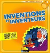 Inventions et inventeurs - Couverture - Format classique