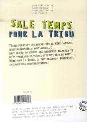 La tribu t.2 ; sale temps pour la tribu - 4ème de couverture - Format classique