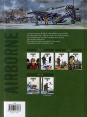 Airborne 44 T.5 ; s'il faut survivre... - 4ème de couverture - Format classique