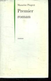 Premier Roman. - Couverture - Format classique