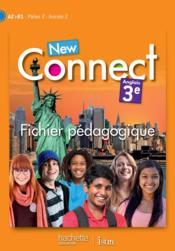 NEW CONNECT ; anglias ; 3e ; fichier pédagogique - Couverture - Format classique