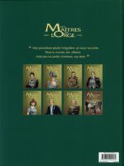 Les maîtres de l'Orge T.5 ; Julienne, 1950 - 4ème de couverture - Format classique