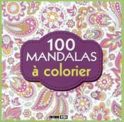 100 mandalas à colorier - Couverture - Format classique