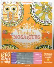 Mandalas mosaïques - Couverture - Format classique