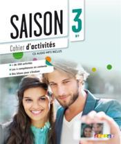 SAISON ; niveau 3 ; méthode de français - Couverture - Format classique