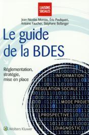 Le guide de la BDES - Couverture - Format classique