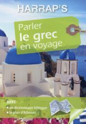 Parler le grec en voyage - Couverture - Format classique