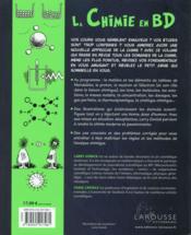 La chimie en BD - 4ème de couverture - Format classique