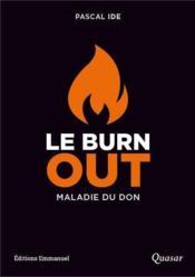 Le burn out - Couverture - Format classique