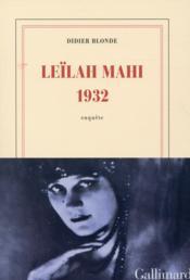 Leïlah Mahi 1932 - Couverture - Format classique