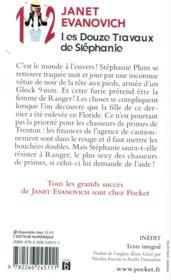 Les douze travaux de Stéphanie - 4ème de couverture - Format classique
