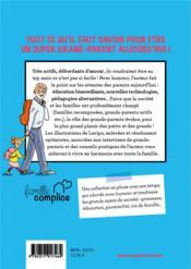 Le guide des super grands-parents - 4ème de couverture - Format classique