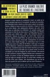 999 ans de serial killers - 4ème de couverture - Format classique