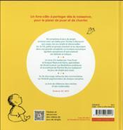 Les jeux chantés de mon bébé - 4ème de couverture - Format classique