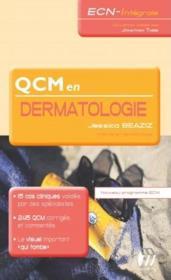 Qcm en dermatologie - Couverture - Format classique