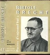 Bertolt Brecht - Collection Poetes D'Aujourd'Hui N°43 - Couverture - Format classique