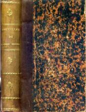 Nouvelles De Charles Nodier - Souvenirs De Jeunesse - Mademoiselle De Marsan - Inez De Las Sierras - Couverture - Format classique