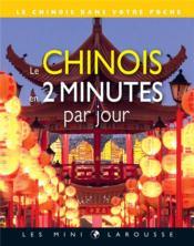 Le chinois en 2 minutes par jour - Couverture - Format classique