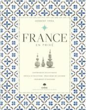 France en privé - Couverture - Format classique