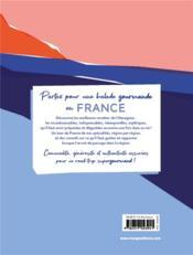 Balade gourmande en France ; les meilleures recettes de nos régions - 4ème de couverture - Format classique
