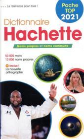 Dictionnaire Hachette poche top (édition 2021) - Couverture - Format classique