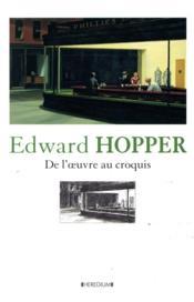 Edward Hopper : de l'oeuvre au croquis - Couverture - Format classique