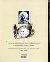 Einstein ; le fantastique voyage d'une souris dans l'espace-temps - 4ème de couverture - Format classique