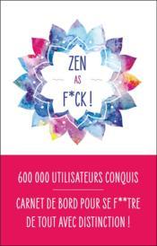 Zen as f*ck - Couverture - Format classique