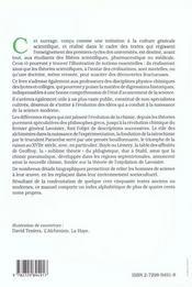 D'Aristote A Lavoisier Les Etapes De La Naissance D'Une Science - 4ème de couverture - Format classique