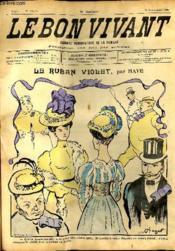 Le bon vivant n°358 - Le ruban violet - Couverture - Format classique