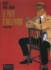 Le privé d'Hollywood ; intégrale - Intérieur - Format classique