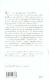 J.-K. Huysmans, le forçat de la vie - 4ème de couverture - Format classique