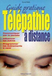 Guide pratique de télépathie à distance - Couverture - Format classique