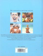60 conseils pour rester jeune ; les secrets de l'equilibre - 4ème de couverture - Format classique