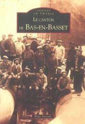 Le canton de Bas-en-Basset - Intérieur - Format classique