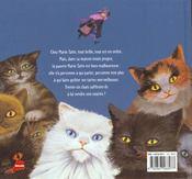 Les 36 chats de marie tatin - 4ème de couverture - Format classique