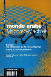 Egypte paradoxes reislamisation / mag 151 - Couverture - Format classique